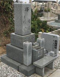 幸王子共同墓地でお手伝いさせていただきました(中辻様)