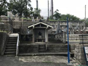 別宮墓地の写真