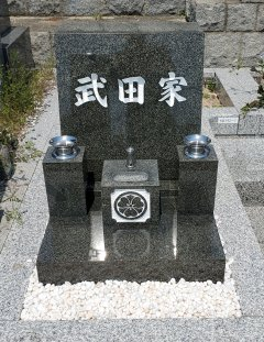 春日野墓地でお墓のリフォームをさせていただきました(武田様)