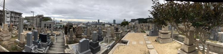 神戸市中央区の春日野墓地