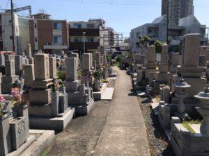 駅近墓地の守口市松月霊園について