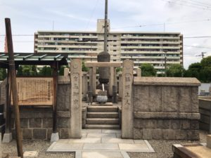 長瀬墓地(東大阪市)有馬御廟
