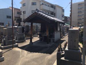 東大阪市御厨墓地の雰囲気