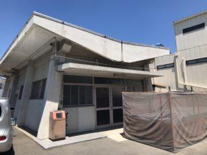 東大阪市今米墓地の斎場