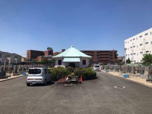 東大阪市楠根墓地の雰囲気