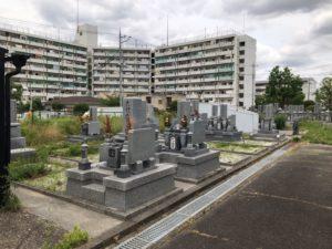 荒本墓地の空き区画