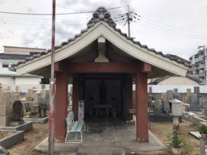 荒本春宮墓地の迎え仏