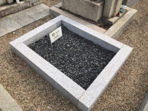 長田西河墓地の空き区画