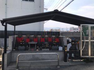 若江南墓地(東大阪市)の六地蔵