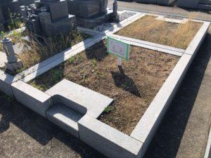 幸王子共同墓地の空き区画