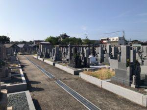 幸王子共同墓地の風景