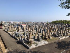 幸王子共同墓地の雰囲気