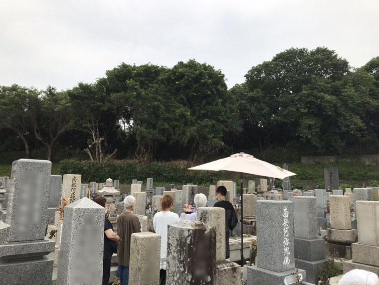 神戸市西区にあります玉津南墓園