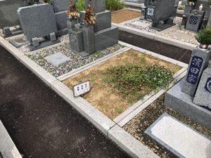 板原公園墓地の空き