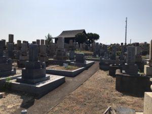 幸王子共同墓地の旧墓地