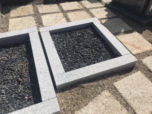 稲田墓地の空き区画