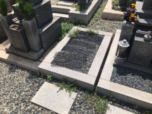 大枝墓地(守口市)の空き区画