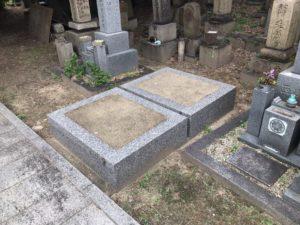 蒲生墓地(大阪市都島区)の空き区画