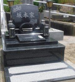 楠葉墓地でお墓を建立させていただきました(坂本様)