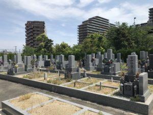 丈六墓地(堺市西区)の空き区画