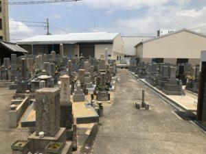 水走墓地(東大阪市)の風景