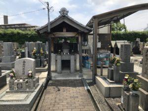 松原墓地の雰囲気