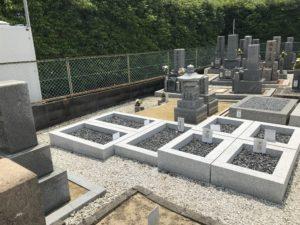 松原墓地の空き区画
