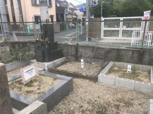 艮下島共同墓地(東大阪)の空き区画