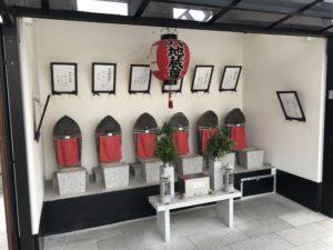 稗島霊園(大阪市西淀川区)の六地蔵