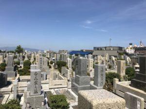宝珠寺(豊中市)の墓地