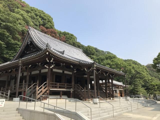 須磨寺(神戸市)の本堂