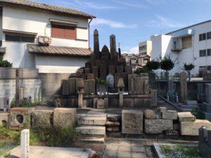 松屋共同墓地(堺市堺区)の無縁塚