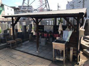 松屋共同墓地(堺市堺区)の水場