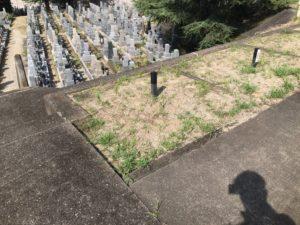 観音寺町墓地(和泉市)の空き区画