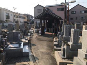 森河内本郷墓地(東大阪市)の永代使用料