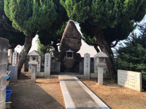 森河内本郷墓地(東大阪市)の戦死者の碑