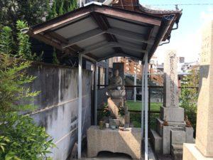 東橋波墓地(守口市)のお地蔵さん