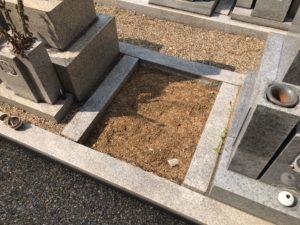 東橋波墓地(守口市)の空き区画