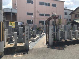 七軒家墓地(東大阪市)のお墓