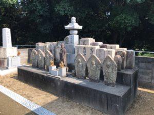 河北共同墓地(寝屋川市)の無縁塚