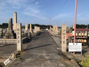長滝墓地(泉佐野市)のお墓