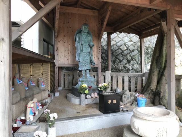 須磨寺(神戸市)の弘法大師像