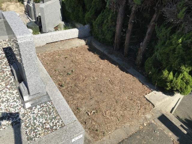 神戸市垂水区にある共同墓地 乙木墓地のお墓の空き区画