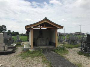 尊重寺共同墓地(高槻市)のお堂