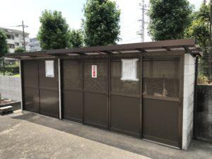 戸伏墓地(茨木市)の倉庫