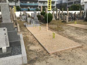 大阪市設北霊園の6霊地