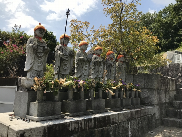 神戸市北区 地蔵院霊園の六地蔵さん