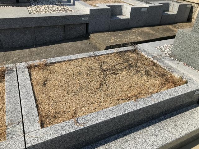 神戸市中央区 春日野墓地の空き区画