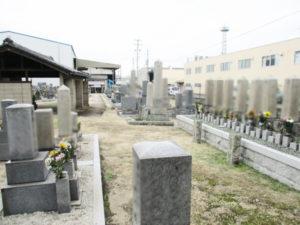 里上津屋・浜上津屋墓地7(八幡市)
