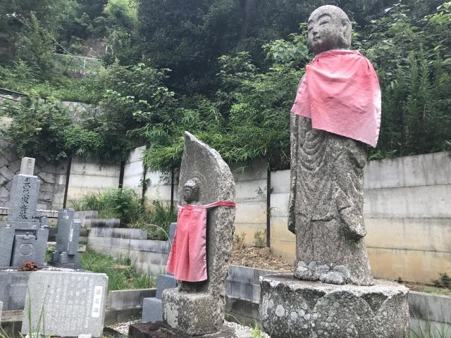 三条墓地(芦屋市)のお地蔵さん